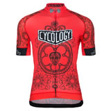 Cycology gear Day of the living (red/m)
