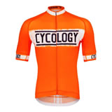Cycology gear Miles Are My Meditation (orange)