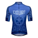 Cycology gear Blue Mehndi