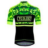 Cycology gear Geometric (Lime, m)